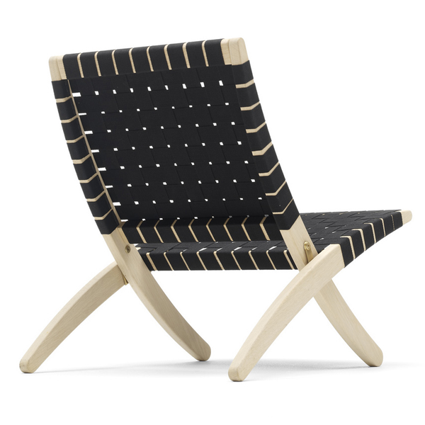 Carl Hansen - MG501 Cuba Chair - Oak Lacquer / Natural Seat - Lekker Home