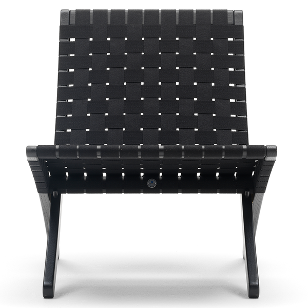 Carl Hansen - MG501 Cuba Chair - Black on Oak / Black Seat - Lekker Home