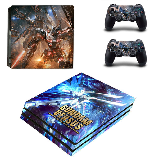 Gundam Versus Game Fantastic Battling Dope PS4 Pro Skin