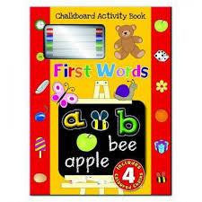 Chalkboard Activity Book: First Words