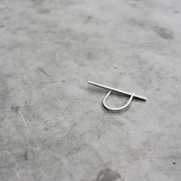 Line Ring, by BAARA Jewelry. Strait Line Ring, Gift for Girlfriend, Ring, Unique Ring, Sterling Silver Ring, Gift for Her Ring, Modern Ring