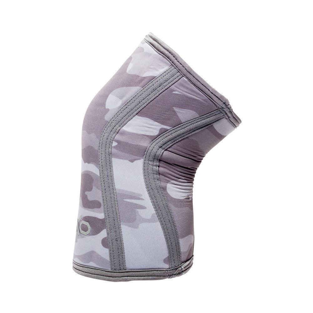 7MM Knee Sleeves - CAMO GREY