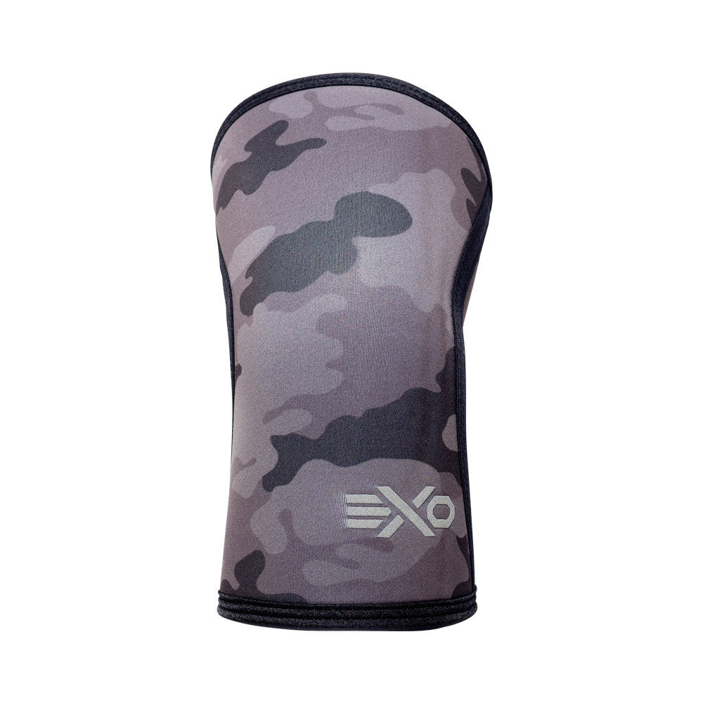 5MM Knee Sleeves - CAMO BLACK