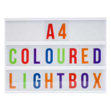 A4 White Lightbox - Locomocean