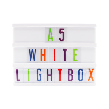 A5 White Lightbox - Locomocean
