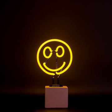Mini Neon Smiley Sign - Locomocean
