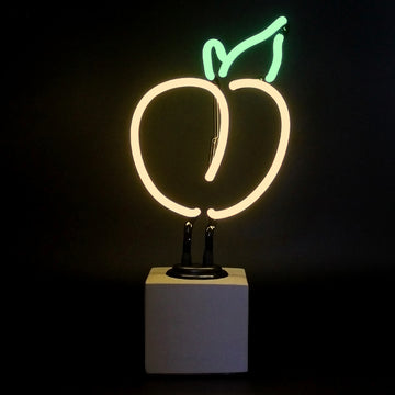 Mini Neon Peach Sign - Locomocean