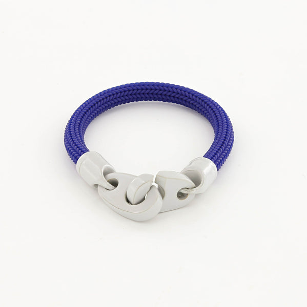 Recruit Braided Rubber Bracelet