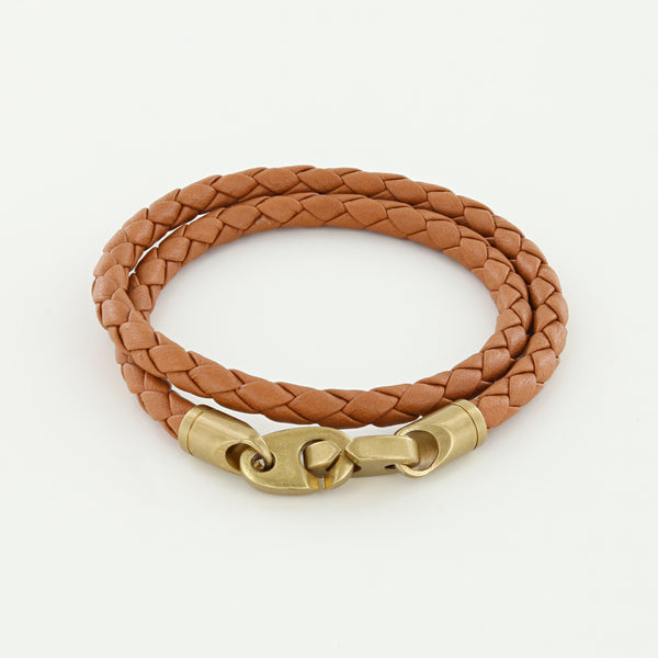 Journey Leather Bracelet