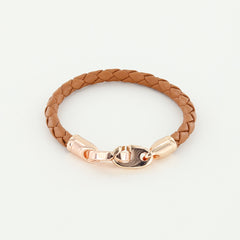 Lure Single Leather Bracelet