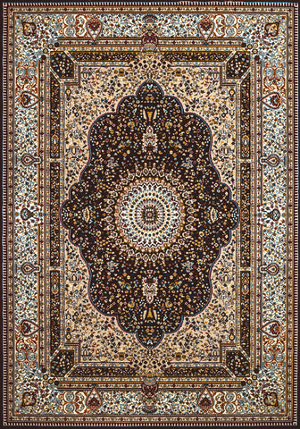 United Weavers - Antiquities Rug Collection - HERIZ DARK BROWN (1900-02055)