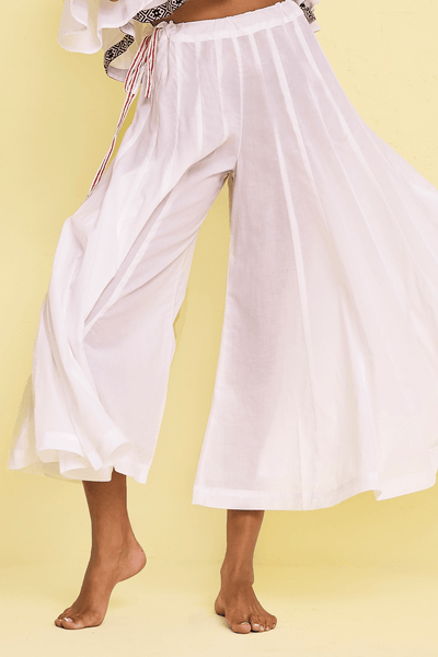 Solid Flare Pant