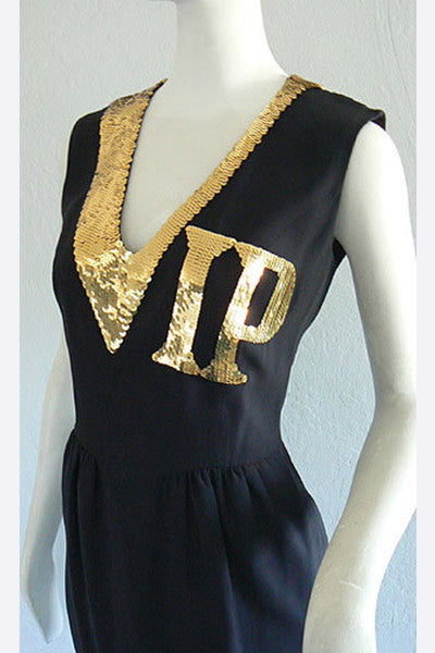 1990 Moschino Cocktail Dress
