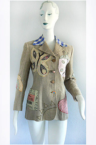 1980s Moschino CHIC Jacket