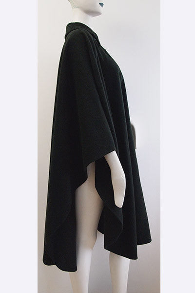 1970s Yves Saint Laurent Wool Cape