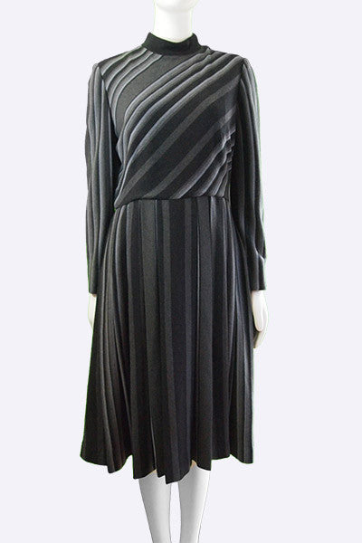 "1970s George Halley ""Clauda"" Dress"