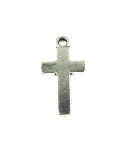 Cross I Antique Silver Charm