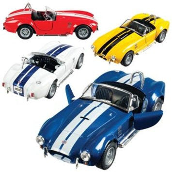 "Die Cast 5"" 1965 Shelby Cobra - Finnegan's Toys & Gifts"