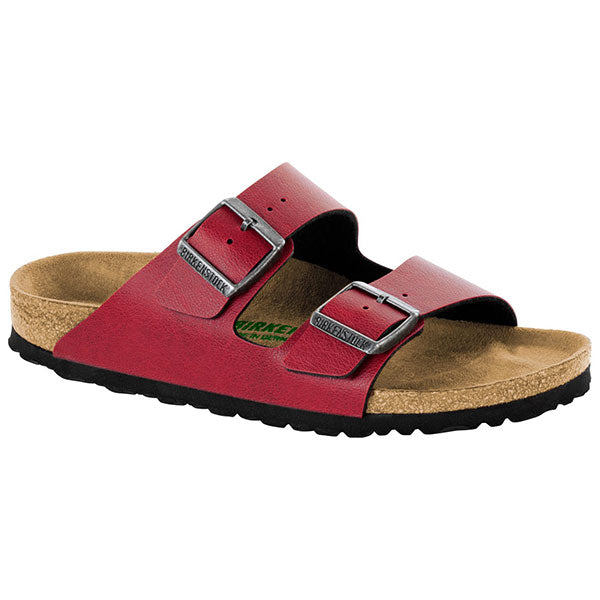 Birkenstock Arizona - Vegan - Bordeaux - Barefoot Blvd