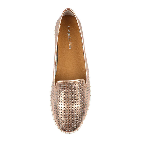 Django & Juliette Hollie Shoe - Rose Gold - Barefoot Blvd
