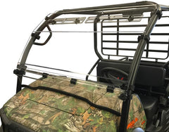 Kawasaki Mule SX  Hinged Windshield W/Upper Vents-HC