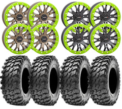 System3 SB 4 and Maxxis Rampage UTV Wheel and Tire Kit