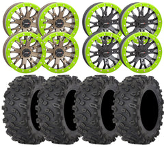 System3 SB 4 and STI Roctane UTV Wheel and Tire Kit