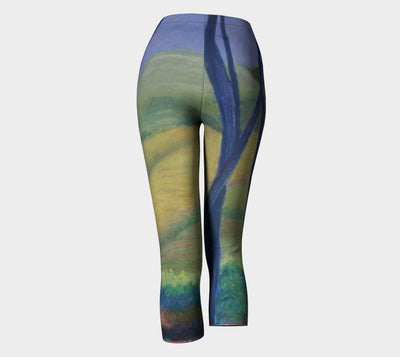FIELD IN ISRAEL CAPRI LEGGING - Liz Lauter Designs
