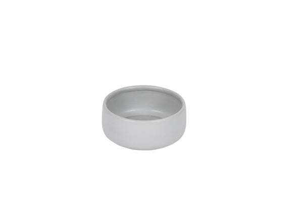 Handmade Ceramic Dog Bowl - Cool Grey 800ml