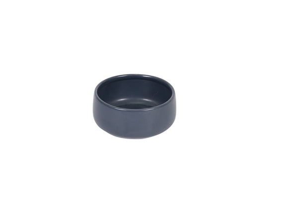Handmade Ceramic Dog Bowl - Navy 800ml
