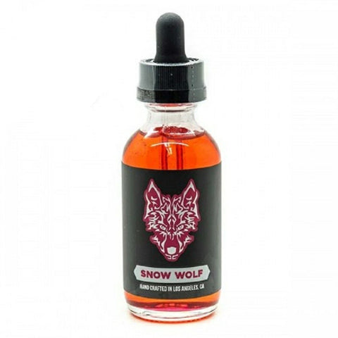 Asmodus   asMODus Snow Wolf Raspberry Freeze 60mL Premium E Liquid