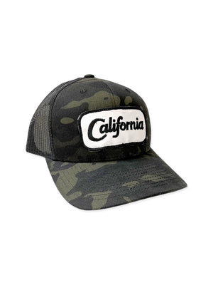 California Camo Hat,hat, The Uplifters- Woo