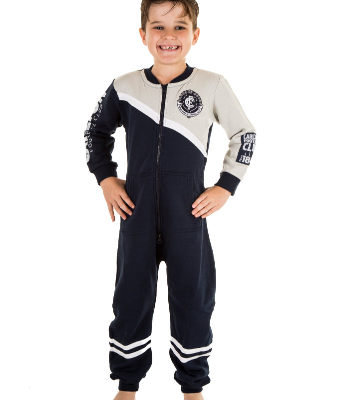 AFL Carlton Youth Onesie AshTabula