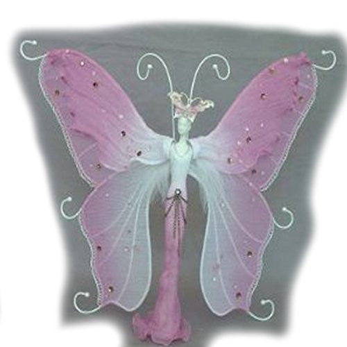 Jewelry Doll Organizer Butterfly Stand Approx 10 Tall - Sexy Sparkles Fashion Jewelry
