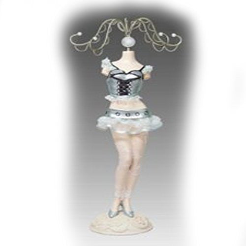 Jewelry Doll Organizer Stand Approx 10 Tall - Sexy Sparkles Fashion Jewelry