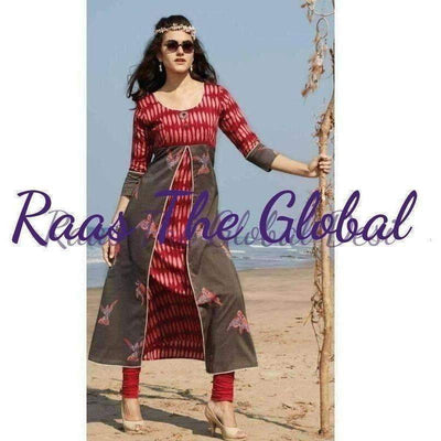 KK1109- kurtis-SUMMER COLLECTION-Raas The Global Desi-[KURTIS]-[INDIAN]-[INDIAN-OUTFIT]-Raas The Global Desi