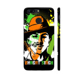 Bhagat Singh Painting On Black OnePlus 5T Cover | Artist: Designer Chennai