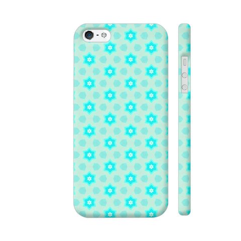 Blue Floral Pattern 3 iPhone 5 / 5s Cover | Artist: Malls