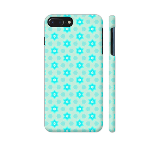 Blue Floral Pattern 3 iPhone 8 Plus Cover | Artist: Malls