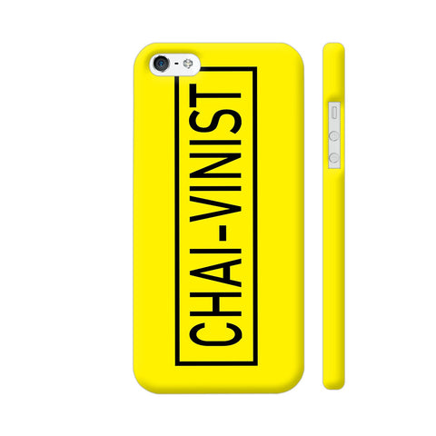 Chai Vinist On Yellow iPhone 5 / 5s Cover | Artist: Malls