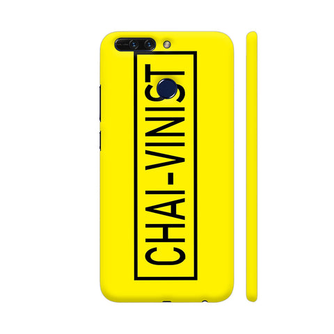 Chai Vinist On Yellow Honor 8 Pro Cover | Artist: Malls