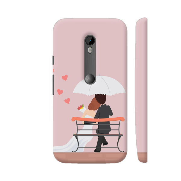 Wedding Couple Moto G Turbo Cover | Artist: Astha