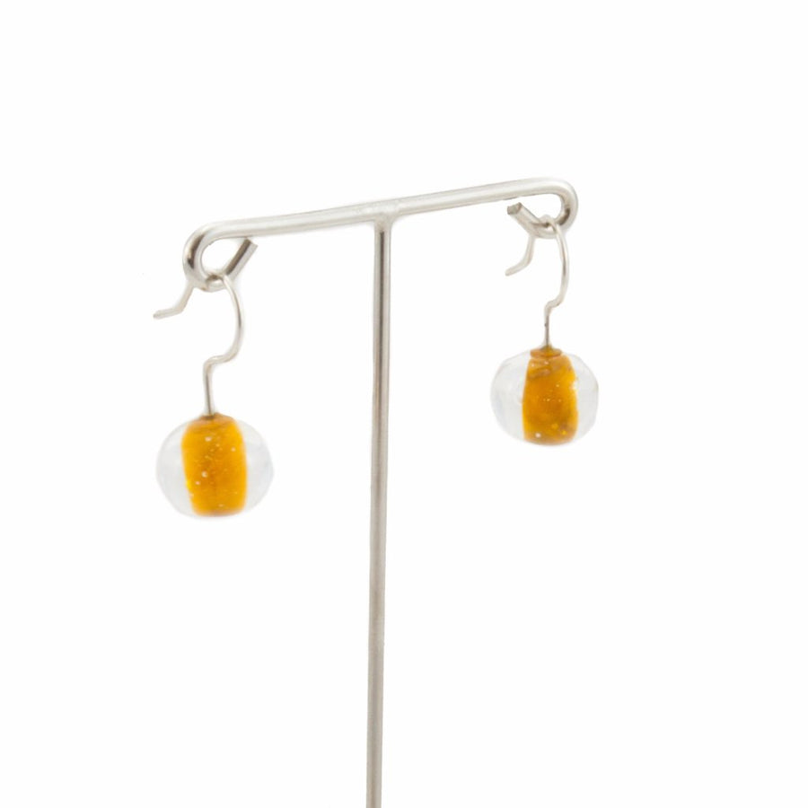 Biglia Orange Short Earrings