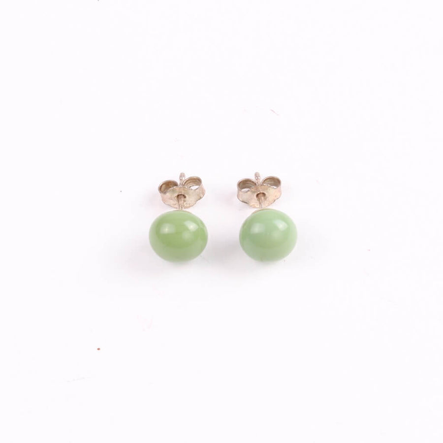 Centouno 60's Green Stud Earrings