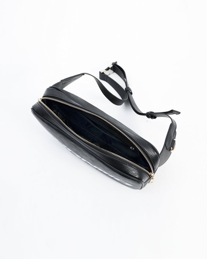 Lux Pyramid Sling Bags - Color: Black