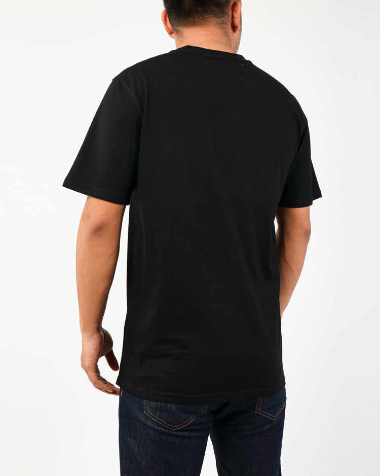 VILLAN TEE-COLOR: BLACK