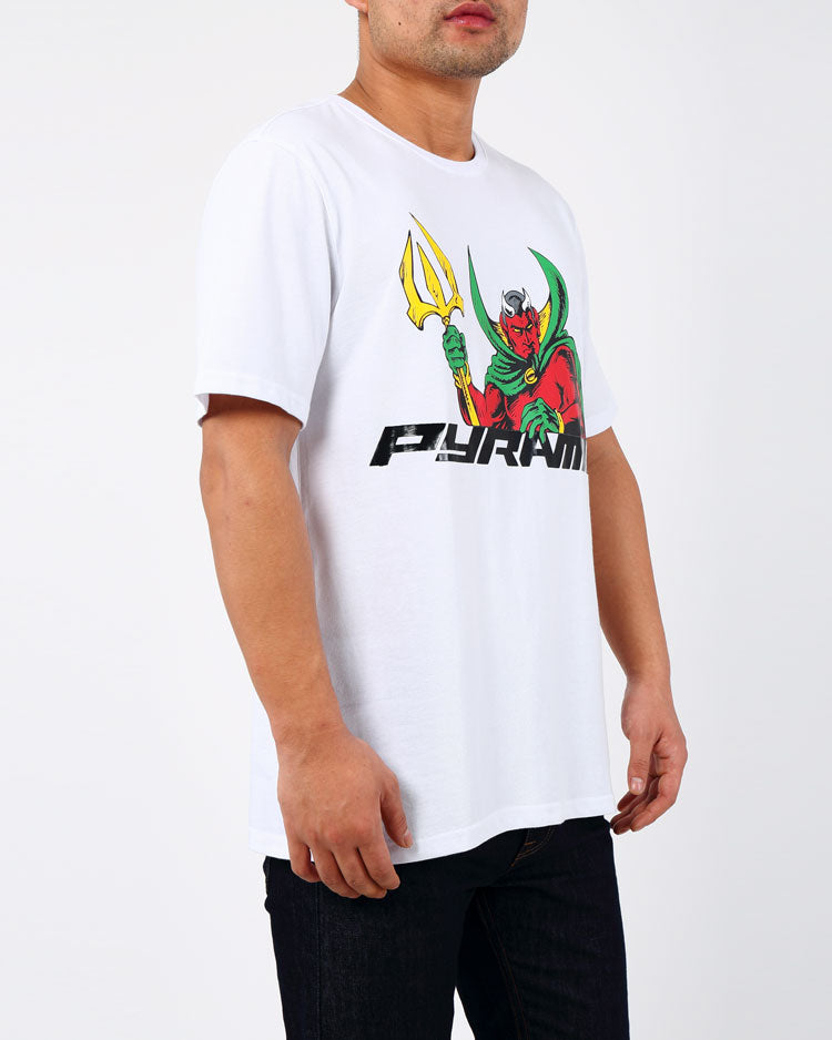 VILLAN TEE-COLOR: WHITE
