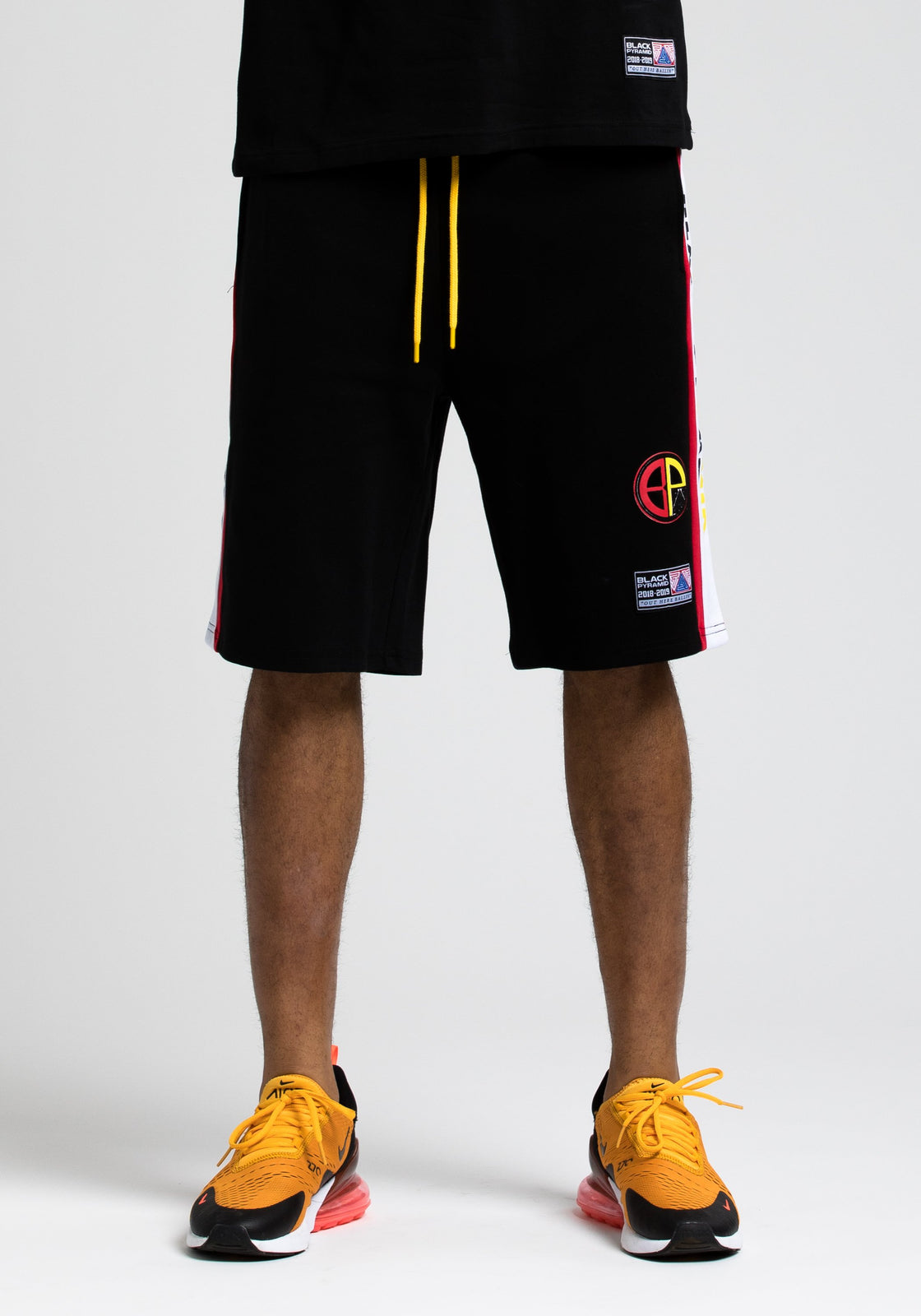 Moto Out Here Ballin Short - Color: Black