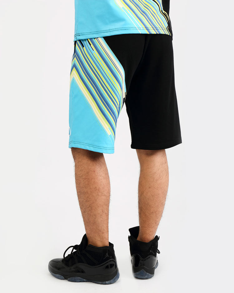 GEO BLAST SHORTS-COLOR: BLACK