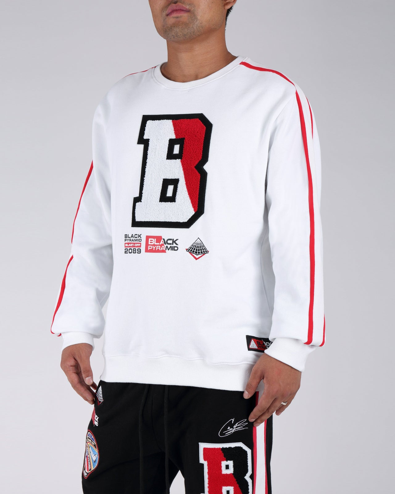 Blast Off Sweat Shirt - Color: White